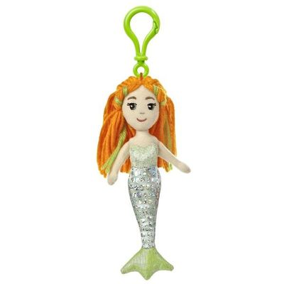 Sea Sparkles - Mermaid Merial Backpack Clip 6.5inch