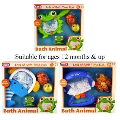 Bath Animal Catch It Net (3 Assorted)
