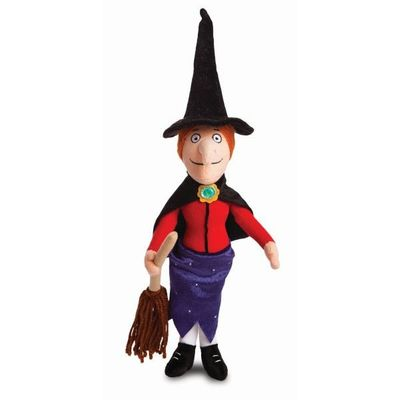 Room On The Broom Witch W. Broom 15.5inch