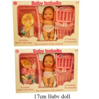 Baby Isabella Cot & Feeding Acc