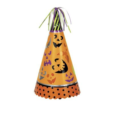 Pumpkin Faces Jumbo Halloween Party Hat