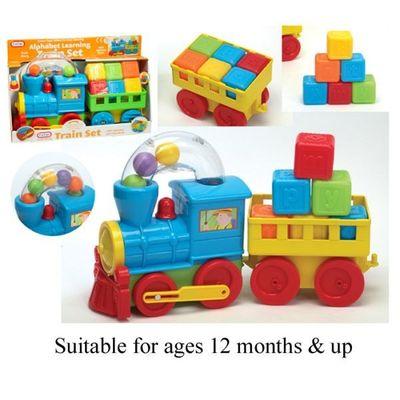 Train Set  with trailer & Blocks