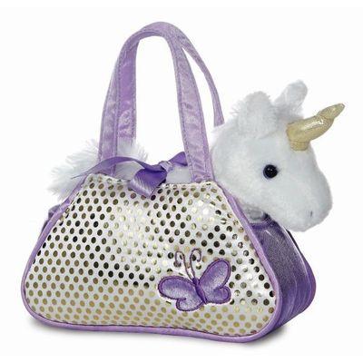 Fancy Pal Unicorn Purple 8inch
