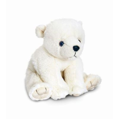 25cm Polar Bear - By Keel Toys