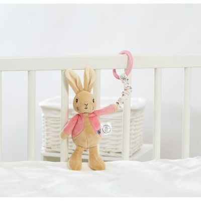Flopsy Bunny Attachable Toy - Peter Rabbit  by Rainbow Designs