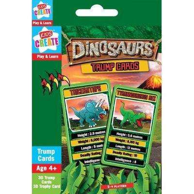 Dinosaur Play & Learn Trumps