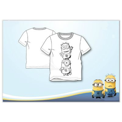 Colour your own Minion T-Shirt