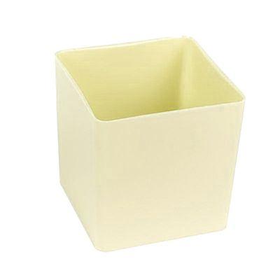 Cream Acrylic Cube 10cm - Ideal For Sweetie Trees