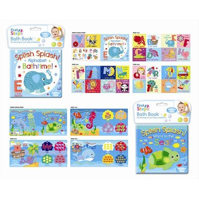 Splish Splash - Soft Baby Bath Book by First Steps