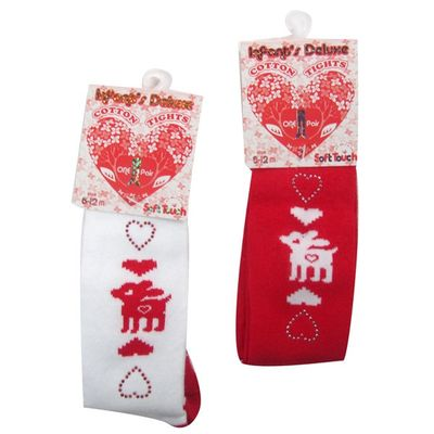 Deluxe christmas tights by Soft Touch