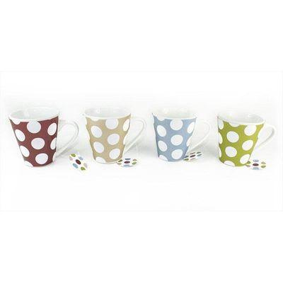 Mugs 11oz Spots Design 4 Assorted