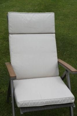 Full Cushion for Large Multi Position Chair in Light Beige