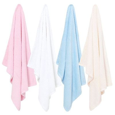 Babies Waffle Blanket  by Baby Town.Colours may vary