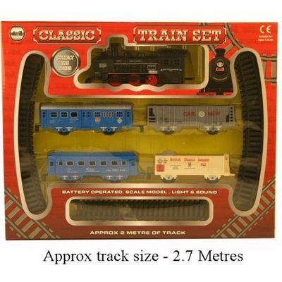 B/o Train Set By Atoz Toys