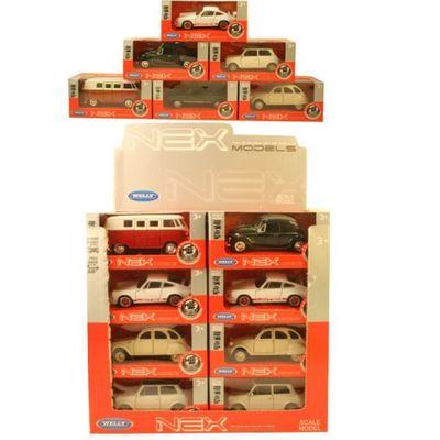 1:38 Dc Classic Cars 6 Assorted Cdu