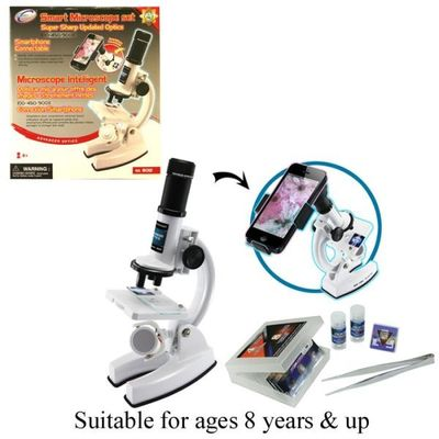 Microscope With Smartphone Adapter
