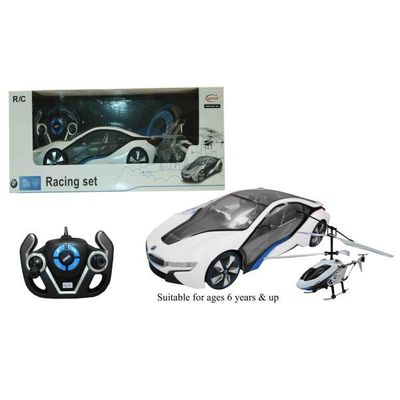 Rdc 2 In 1 Bmw I8 & Helicopter