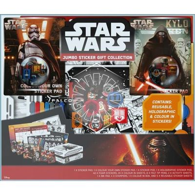 Star Wars Jumbo Stickers Gift Collection