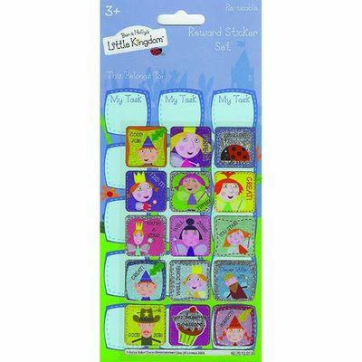 Large Reward Ben & Hollys Little Kingdom  Stickers