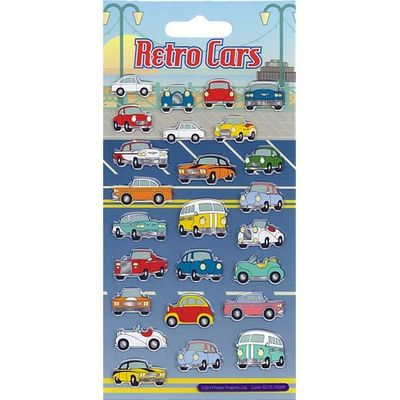 Kidscraft Resin Retro Cars Stickers