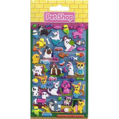 Kidscraft Foam Pet Shop Stickers