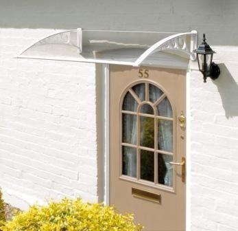 Door Canopy - White GGO91