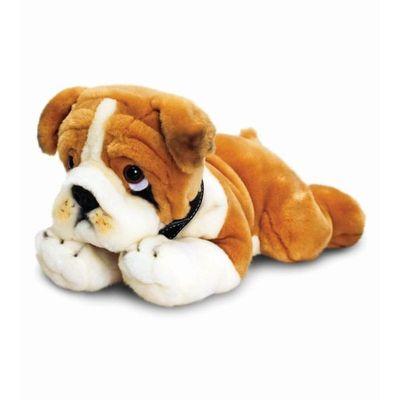35cm Bulldog Soft Plush By Keel Toys