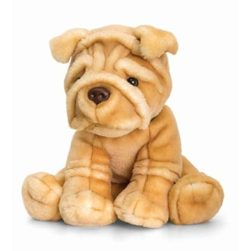 35cm Sharpei Soft Plush By Keel Toys