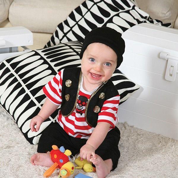Baby Buccaneer Dress Up Costume 12-18 Months