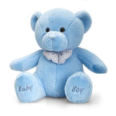35cm Baby Boy Bear Soft Plush By Keel Toys