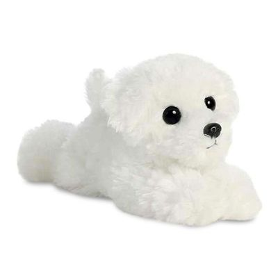 Mini Flopsie - Snowball Bichon Frise 8inch