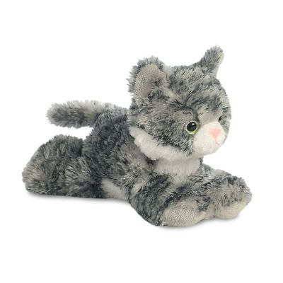 Mini Flopsie - Lily Grey Tabby Cat 8inch