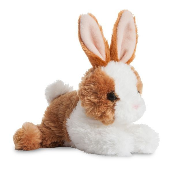 Mini Flopsie - Bunny Brown/white8inch