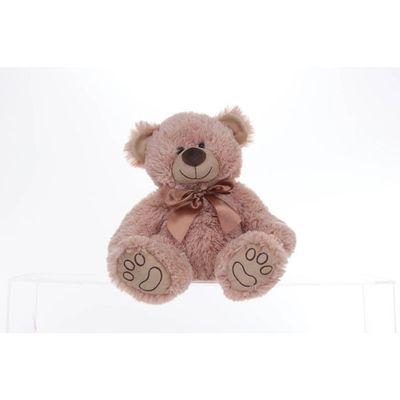 11 Inch Beige Sitting Bear
