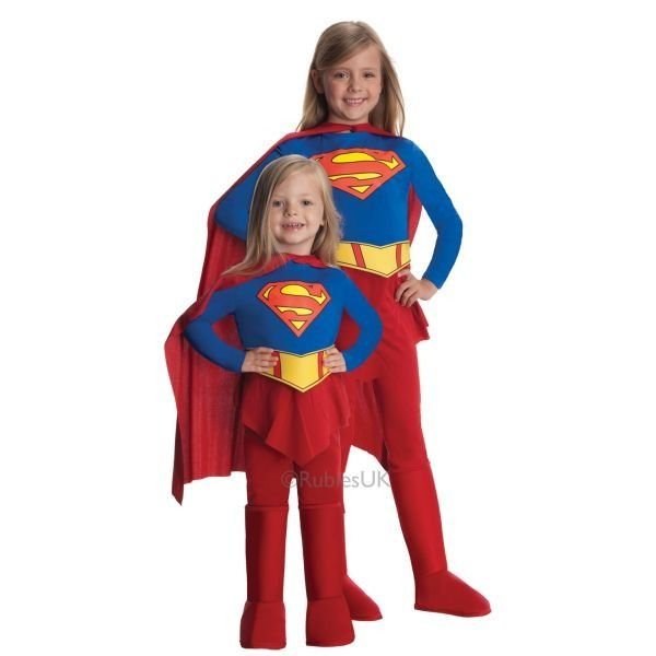 Supergirl  Fancy Dress Outfit  Toddler By Rubies