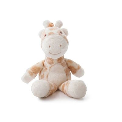 Gigi Giraffe Rattle 8in Soft Plush By Aurora