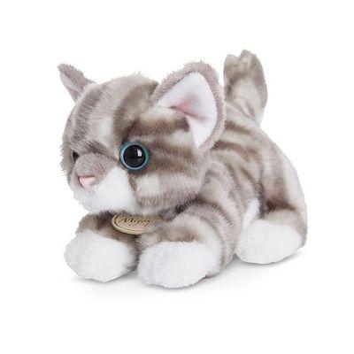 Miyoni Grey Tabby Cat 8 Inch  Plush Soft By Aurora