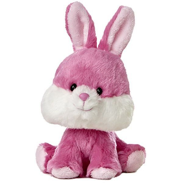 Wobbly Bobblees Bunny 6 Inch Plush Soft By Aurora