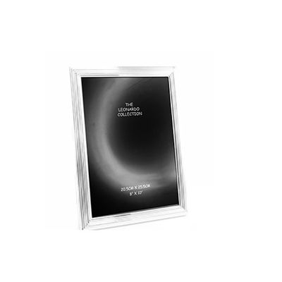 Silver Plated Frame 8x10  by Leonardo Collection
