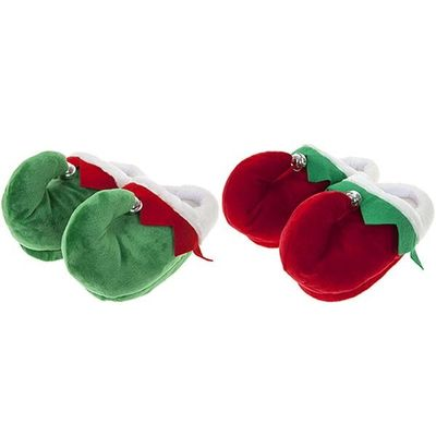 Elf Slippers In Assorted Adult Sizes - 2 Assorted