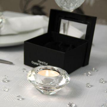 Crystal Effect Tealight Holder