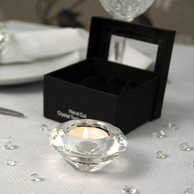 Crystal Effect Tealight Holder