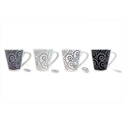 Swirl Design Mugs
