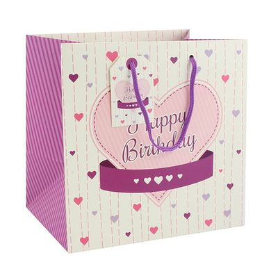 Ladies Happy Birthday Gift Bag Medium  by Leonardo Collection