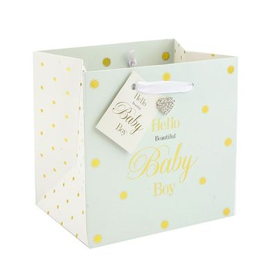Mad Dots Baby Boy Gift Bag Small  by Leonardo Collection