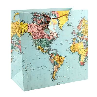 World Traveller Gift Bag  by Leonardo Collection