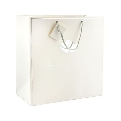 Bride & Groom Gift Bag Large  by Leonardo Collection