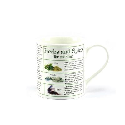 Bone China Herbs & Spices Gift Boxed Mug  by Leonardo Collection