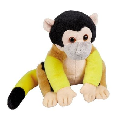 Soft Plush Squirrel Monkey 18cm By Ravensden