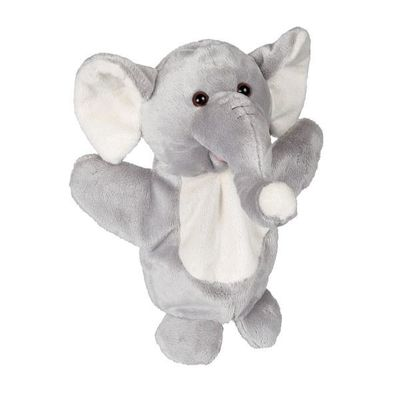 Soft Plush Elephant Puppet 27cm By Ravensden